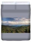 Smokey Mountain Sky Duvet Cover