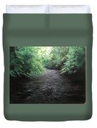 Smokey River Duvet Cover