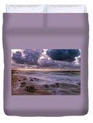 Smokey Waters Duvet Cover