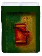 Smoking Pipe Duvet Cover