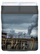 Smoky Duvet Cover