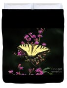 Smoky Mountain Butterfly Duvet Cover