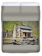 Smoky Mountain High Duvet Cover