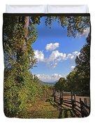 Smoky Mountain Scenery 12 Duvet Cover