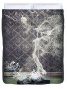 Smoky Shoes Duvet Cover