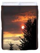 Smoky Sun Duvet Cover