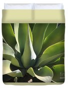 Smooth Agave Duvet Cover