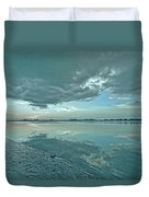 Smooth Blues Duvet Cover