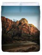 Smooth Desert River Duvet Cover