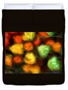 Smooth Peppers Duvet Cover