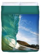 Smooth Wave - Makena Duvet Cover