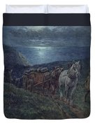 Smugglers Duvet Cover by William Barnes Wollen