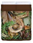 Snail At Home Duvet Cover