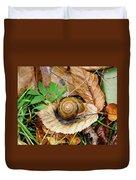 Snail Home Duvet Cover