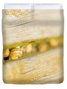 Snails Duvet Cover by Stefano Piccini