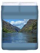 Snake River Hells Canyon Duvet Cover