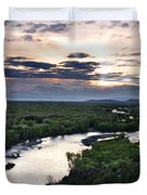 Snake River Duvet Cover