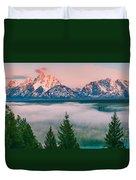 Snake River Overlook - Grand Teton National Park Duvet Cover