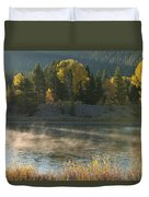 Snake River Sunrise Duvet Cover