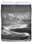 Snake River Winter Duvet Cover