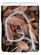 Snake Skeleton Duvet Cover