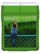 Snakebird Duvet Cover