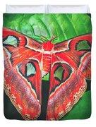 Snakehead Moth Duvet Cover