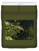 Snapping Turtle Head Duvet Cover