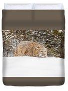 Sneaky Cat Duvet Cover