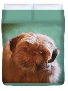 Snicker Doodle 852 -  Painting Duvet Cover