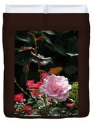 Sniff - Tea Rose Duvet Cover