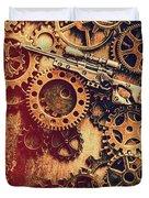 Sniper Rifle Fine Art Duvet Cover