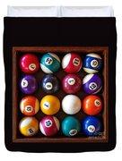 Snooker Balls Duvet Cover