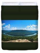Snooper's Rock Overlook Duvet Cover