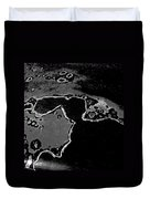 Snoopy On The Moon Duvet Cover