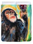 Snooty Monkey Duvet Cover