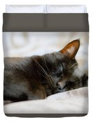 Snoozy Kitty Duvet Cover