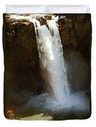 Snoqualmie Falls Washington Duvet Cover