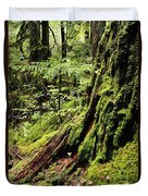 Snoqualmie National Forest Duvet Cover