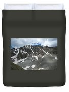 Snow And Rock Duvet Cover