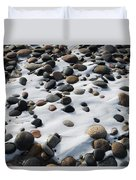 Snow And Stone Duvet Cover