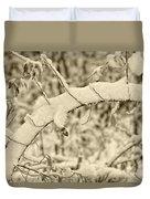 Snow Arch Duvet Cover