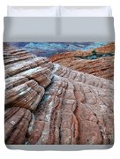 Snow Canyon Utah 2 Duvet Cover