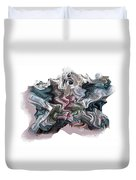 Snow Capped Cloth Duvet Cover