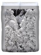 Snow Coat Duvet Cover