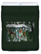 Snow Cones Duvet Cover by Sharon Talson