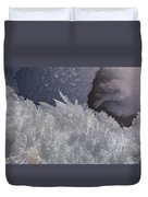 Snow Crystals Duvet Cover