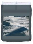 Snow Drift Duvet Cover