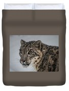 Snow Leopard 2 Duvet Cover