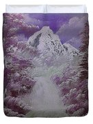 Snow Magic Duvet Cover